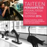 Taiteen perusopetus visuaalisissa taiteissa vuonna 2014 -julkaisun kansi.