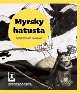 Myrsky hatusta - matka taiteilijan maailmaan- kirjan etukansi.net.