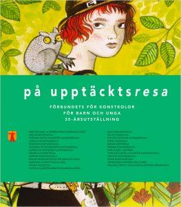 Löytöretkellä-näyttelyn verkkokatalogi ruotsiksi.
