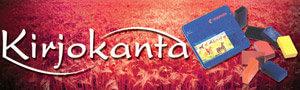 Kirjokanta Oy:n logo.