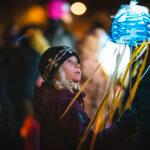 Lyhtypuistoja ja valoinstallaatioita Lapsen oikeuksien päivänä 2019!