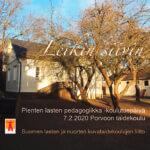 LEIKIN SIIVIN - Pienten lasten pedagogiikka -koulutuspäivä Porvoossa 7.2.2020
