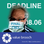 VAlue Brooch -kuvataidekilpailun mainos.