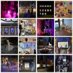 Lyhtypuistoja ja valoinstallaatioita 2020 kuvakooste.