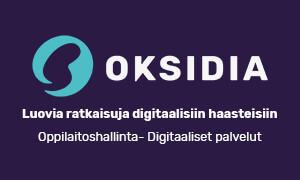 Oksidian logo.