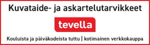 Tevella Oy:n mainospainike.