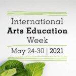 Unescon kansainvälisen taidekasvatusviikon 2021 markkinointikuva.