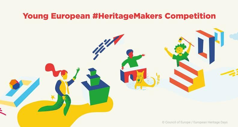 Kulttuuriympäristön tekijät -kilpailun 2021 mainoskuva.