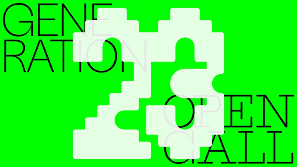 Generation 2023 -ryhmänäyttelyn mainoskuva.
