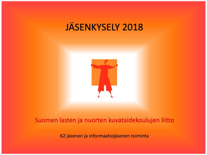 Jäsenkyselyn 2018 kansilehti.
